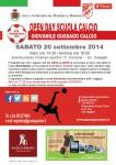 Openday Scuola Calcio 2014