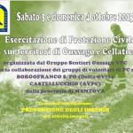 Esercitazione Gruppo Sentieri ottobre 2015