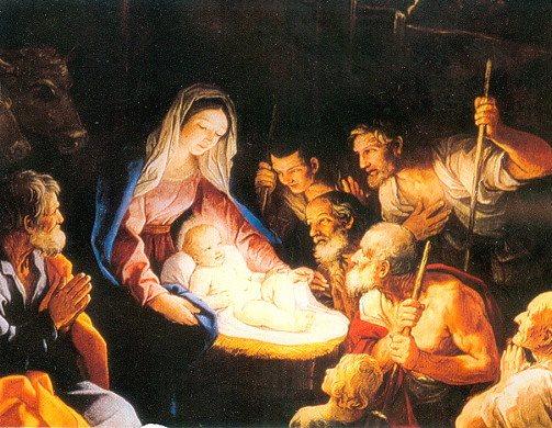 Immagini Sacre Di Buon Natale.Buon Natale Il Presepio Quale Gaudio Del Natale Gussago News